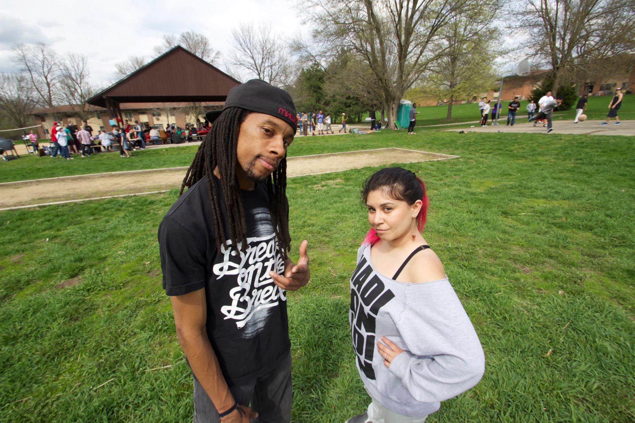 Jarius and Katrina
