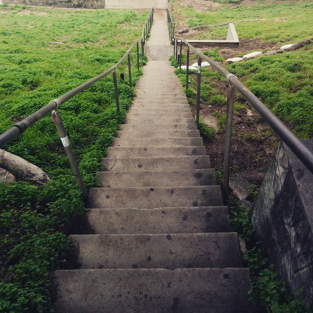 I tend to take things literally. Since this article's about steps you need to take...this is a photo of steps.